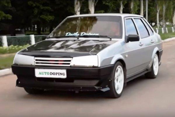 «Дерзкая 99-я»: Стильный и бюджетный тюнинг ВАЗ-21099 показали в сети