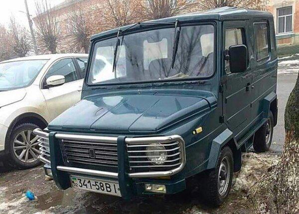 «Переболел в детстве»: «Гелик на минималках» в лице тюнингованного ЛуАЗ-969 «взорвал» сеть