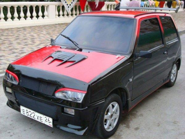 «Машина для плохих мальчиков»: «Ока» с «самым интимным» тюнингом поразила сеть