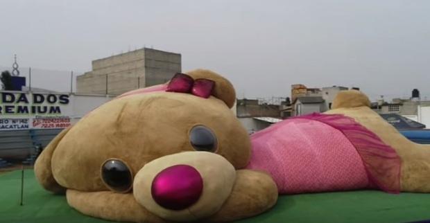 25-метровая плюшевая игрушка вошла в Книгу рекордов Гиннесса