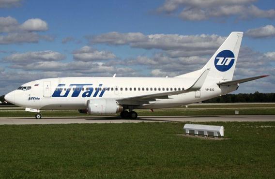 Пассажирский самолет авиакомпании