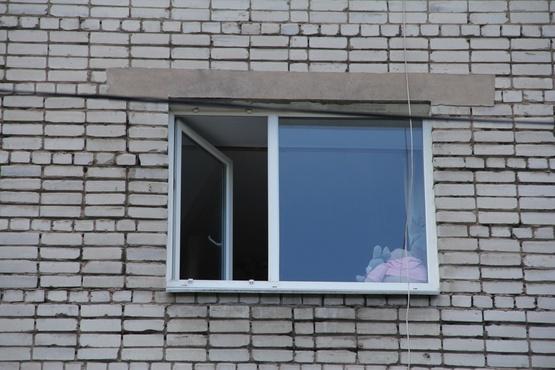Прислонилась к москитной сетке. В Югре маленькая девочка выпала из окна многоэтажки