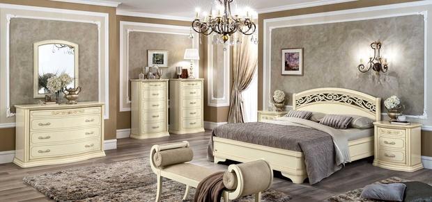 Как выбрать мебель для спальни в классическом стиле?