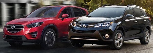 Honda CR-V, Mazda CX-5 или Toyota RAV4 – О выборе кроссовера рассказал блогер
