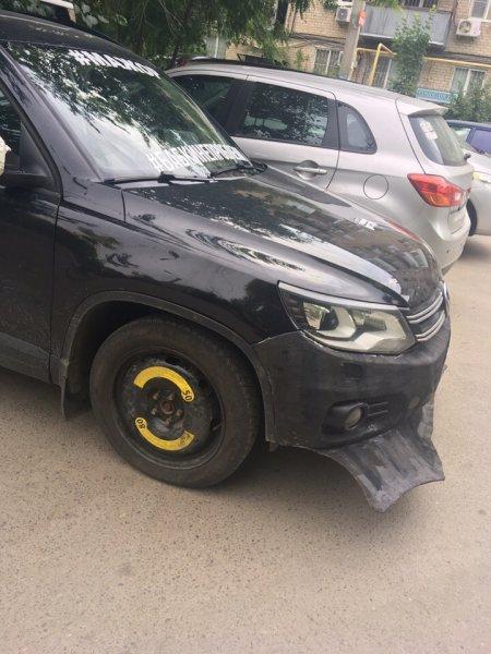 «Русалку сбил, похоже»: Volkswagen Tiguan с «ластами» на бампере «взорвал» сеть