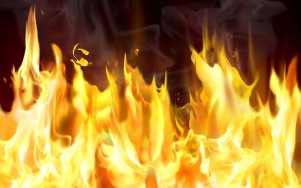 В результате пожара погибли два человека
