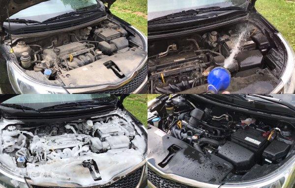 60 000 км после «потопа»: Владелец KIA Rio рассказал, можно ли мыть мотор машины
