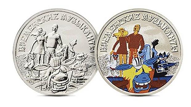 Банк России выпустит памятные монеты