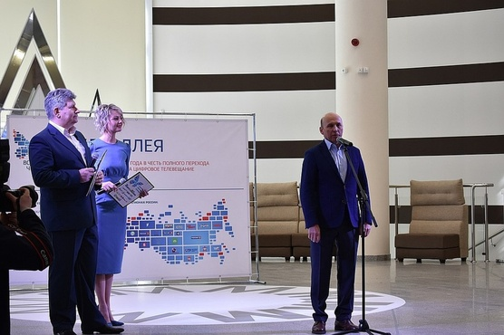 Вице-губернатору Тюменской области вручили награду за заслуги перед регионом