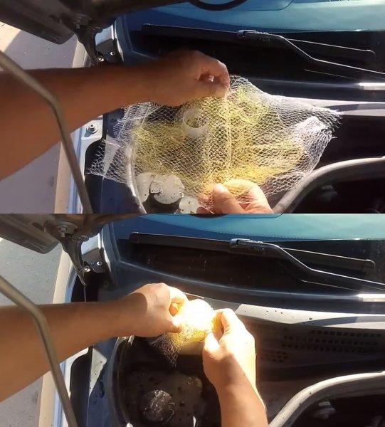 «Вот и всё ноу-хау»: Как продуктовой сеткой устранить бульканья в LADA Vesta – владелец