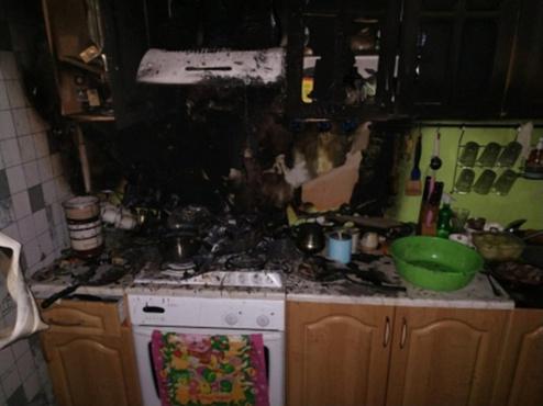 Россиянка сгорела заживо на своей кухне