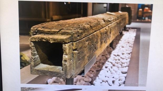 В Тюмени откопали старинную загадочную трубу - фото