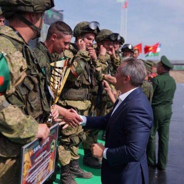 Тюменский губернатор восхитился мастерством военных на АрМИ-2019