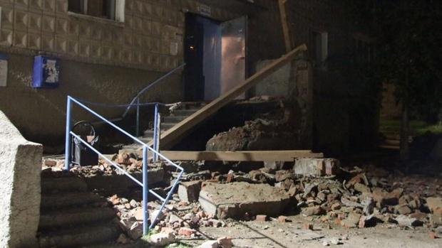 В Югре рухнула часть пятиэтажного дома