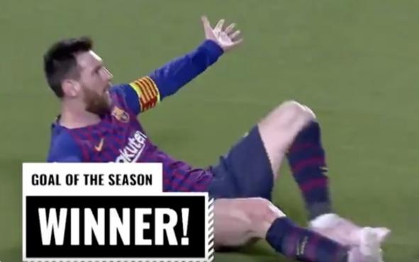Назван лучший гол прошлого футбольного сезона – видео