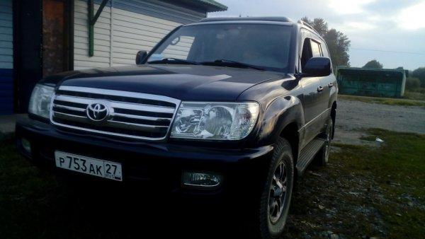 «Комфортный танк»: Владелец рассказал, как сохранился 21-летний Toyota Land Cruiser 100