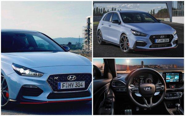 Мощнее, быстрее и легче: Представлен новый хэтчбек Hyundai i30 N