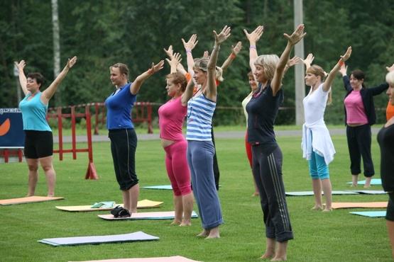 Осенью тюменцы продолжат заниматься физкультурой и спортом