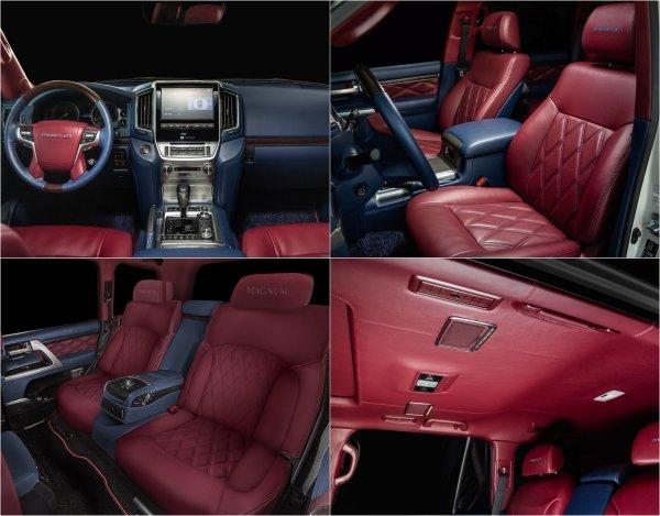 «Будто Жигули дерматином обшили»: Роскошный тюнинг Toyota Land Cruiser 200 прокомментировали в сети