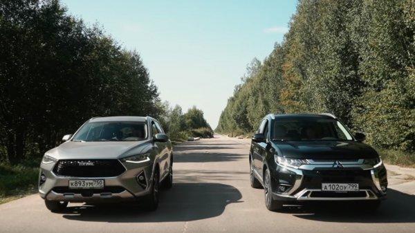 Mitsubishi Outlander против Haval F7: Какой из кроссоверов выбрать?