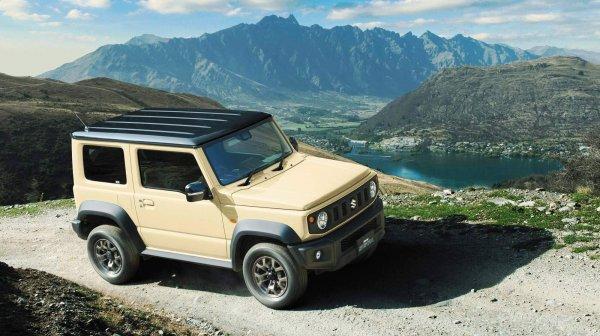 Маленький «Гелик»: Что особенного в новом Suzuki Jimny