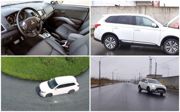 «Круче Арканы на 1000%, а Каптюр вообще отдыхает»: Автолюбитель провёл тест-драйв Mitsubishi Outlander GT V6