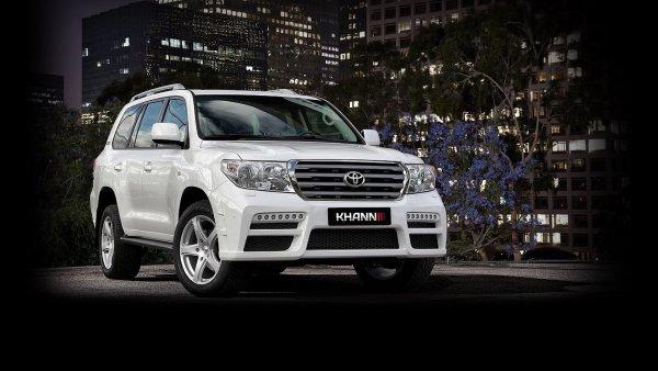 Обновленный Toyota Land Cruiser 200 KHANN – когда обвес стоит, как две LADA Vesta Sport