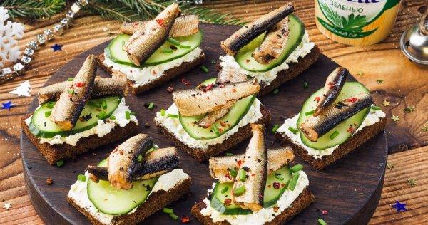 Советский бутерброд. Повар создал уникальный рецепт бутербродов со шпротами