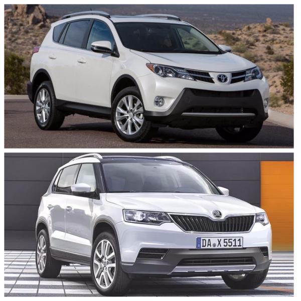 Сравнение Skoda Kodiaq и Toyota RAV4: Стоит ли переплачивать 600 тысяч?