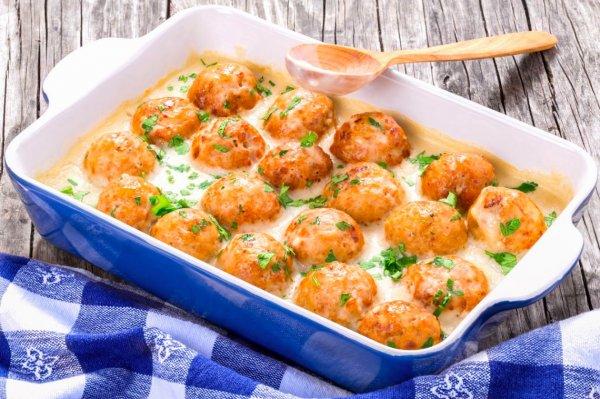 Куриные шарики в кефире признаны лучшим блюдом при диете