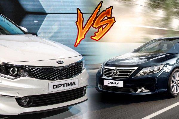 «Камри – сила, Оптима – могила?»: Toyota Camry и KIA Optima – сравнение двух легенд своего сегмента