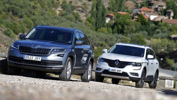 Охота на крупного зверя – Skoda Kodiaq или Renault Koleos: что купить, а что – забыть?
