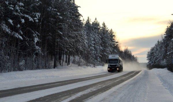 Привет дорожным службам! На М4 «Дон» ухудшились дорожные условия – запасаемся омывайкой