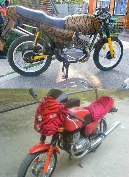 «Да эта же еще хуже предыдущей!»: «Всплыла» еще одна «тигровая» Jawa 350 638 – сеть в ужасе