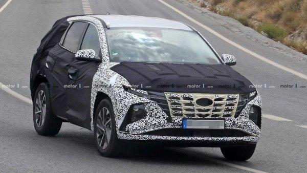 «Террано» и «Кодиак» могут спать спокойно: Дизайн нового Hyundai Tucson 2021 года не впечатляет россиян