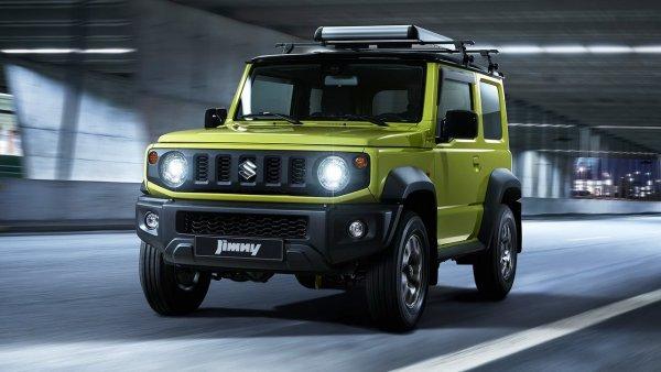 Для семьи негабаритных размеров: Suzuki Jimny – подойдёт лишь холостякам?