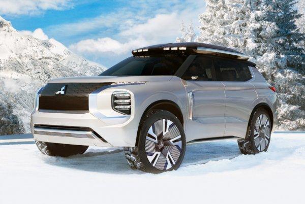 В новый год с новым дизайном: Чего стоит ожидать от Mitsubishi Outlander 2020?