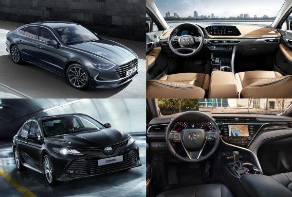 Хватит «обсасывать» ее внешность: Чем удивляет новая Hyundai Sonata на фоне Toyota Camry XV70