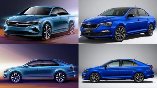 Лишь бы шильдики не путали: Российские автомобилисты недовольны решением сделать из Skoda Rapid «донора» для нового Volkswagen Polo