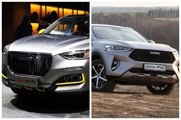 Китайский подарок ко Дню Победы «по дешёвке»! Компактный SUV Haval F5 может стать конкурентом для Haval F7х