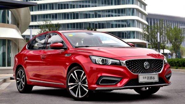 «Оптима» и «Камри» больше не нужны? На рынок вышел «жирный» китайский седан MG 6 2020 – когда в Россию?