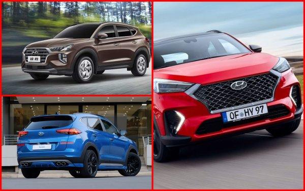 Китайцев обманул! Внешность изменил! Можно в Россию! Как обновлённый Hyundai Tucson 2020 намерен бороться с «Равчиком» и «Тигуаном»