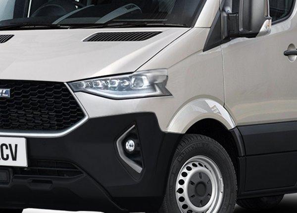 Китайцы и до «Газелей» доберутся: Показан грузовой автомобиль Haval F7 LCV