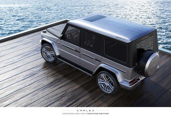 «Гелик» поцене яхты: Представлен уникальный Mercedes-Benz G-Class Yachting Edition