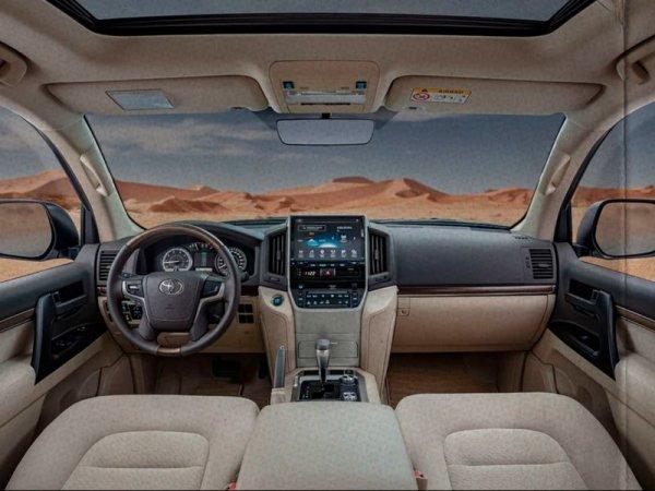 Везите в Россию! Показан арабский Toyota Land Cruiser Heritage Edition, который в 100 раз круче американского